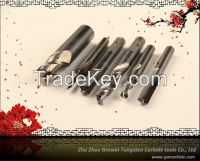 tungsten carbide end mill, cnc milling cutter