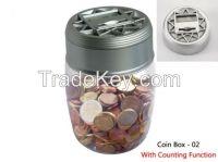 Digital coin box / coin counter