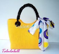 Berry Abaca Bags - Native