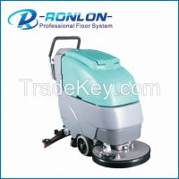 walk behind floor washing cleaning machine with CE