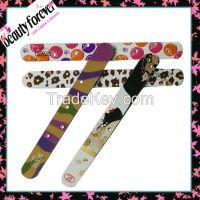 Fashion decorative diamond deb nail file