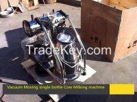 single/double bucket cow milking machine milker