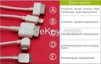 Hot sale multi 6 port burglar alarm for phone and tablets