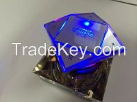 Crystal NFC bluetooth speaker support TF card play