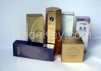 High quality cosmetics packaging box