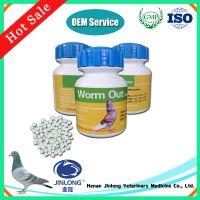 Racing Pigeon Medicine Praziquantel Oxfendazole Worm Out Tablet