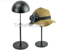 stainless steel hat display stand rack and wig display stand