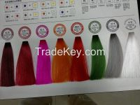 Semi-permanent  acid clinic hair color cream