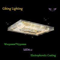GKC0048 Width 1050mm Giking Lighting Good Quality Crystal Ceiling Lamps