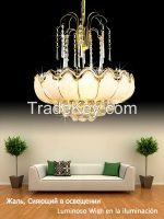 GKC0061 Width 500mm Giking Lighting Good Quality Crystal Chandelier Lamps