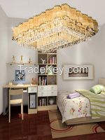 GKC0052 Width 1200mm Height 800mm Giking Lighting Good Quality Crystal Ceiling Lamps