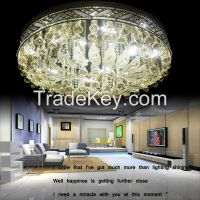 GKC0004 Width 950mm Giking Lighting Good Quality Classical Big Ceiling Lamp Crystal Ceiling Lamps