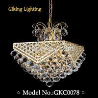 GKC0078 Width400mm Giking Lighting Good Quality Chandelier 2years Guarantee
