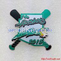 Custom High Quality Lapel Pins, Baseball Pins, Softball Pins