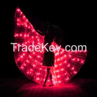 LED Wings Club Wear Rainbow Color