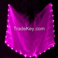 Dance Led veil Real Silk