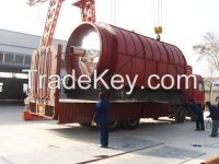 10 tons tyre recycling machinery with free technology support