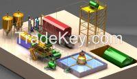 Free installation waste management motor oil refining plant