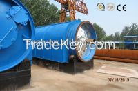 100% enviromental friendly 10 tons waste tyre pyrolysis plant with CE ISO