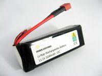 11.1V 2200mAh 15C Li-Polymer Battery