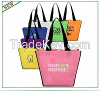 Custom Fashionable Recycle Foldable Shopping Tote Bag