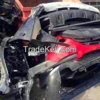 scrap plastic car bumpers