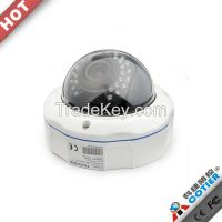 1 Megapixel CMOS ONVIF motion detection IR 30m 720P waterproof p2p ip camera