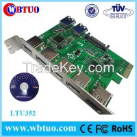 WBTUO PCIE x1 7port USB3.0