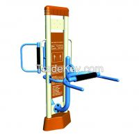 Basketball stands  Outdoor fitness equipment Children's slide