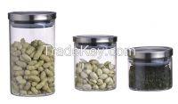 Air-tight glass food storage jar (canister) JMHI003A