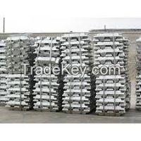 Aluminum ingot, copper cathode lead , metal, scrape,