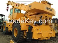 GROVE RT750 rough terrain crane