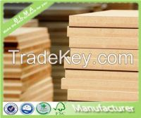 China high quality 18mm raw/plain MDF