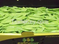 snow peas and sugar snaps