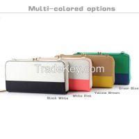 Women's Bi-Fold Leather Wallets