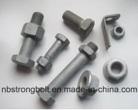 Hex Head Cap Screw ANSI/ASTM/ASME Hex Bolt with HDG