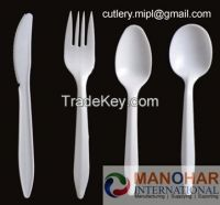Disposable Plastic cutlery / spoon / fork  / knife
