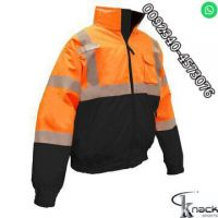 Cotton safety protex coverall bombers CSa reversible fleece FR casual workwear