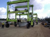 Isoloader Heavy Lift Material Handling Straddle Carrier