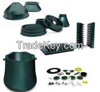 Metso HP Series Cone Crusher Parts