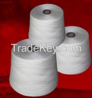 100% Raw White Acrylic Yarn
