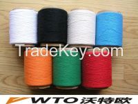 Dope Dyed Color 100% Cotton Yarn From Direct Factory