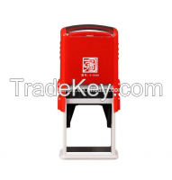 Square 40X40mm Factory HongTu Self inking stamp office use stamp rubber stamp Square/Retangle size 40x40mm