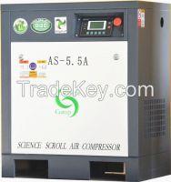 AS0.66-5.5 scroll air compressor