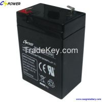 6v4.5ah 6v dry rechargeable storage battery