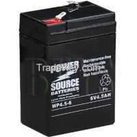 6v4.5ah Chinese battery lead acid battery or emergency lamp