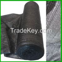 black mono shade net