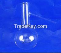 Distilling flask with side tube ,soybolt distilling flask