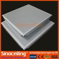 Clip in aluminum ceiling tile, metal ceiling tile