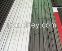 machined and anodized aluminum slide rail